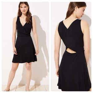 NWT Flare Dress with Cutout